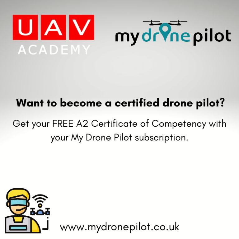 FREE A2 Certificate of Competency with your My Drone Pilot subscription